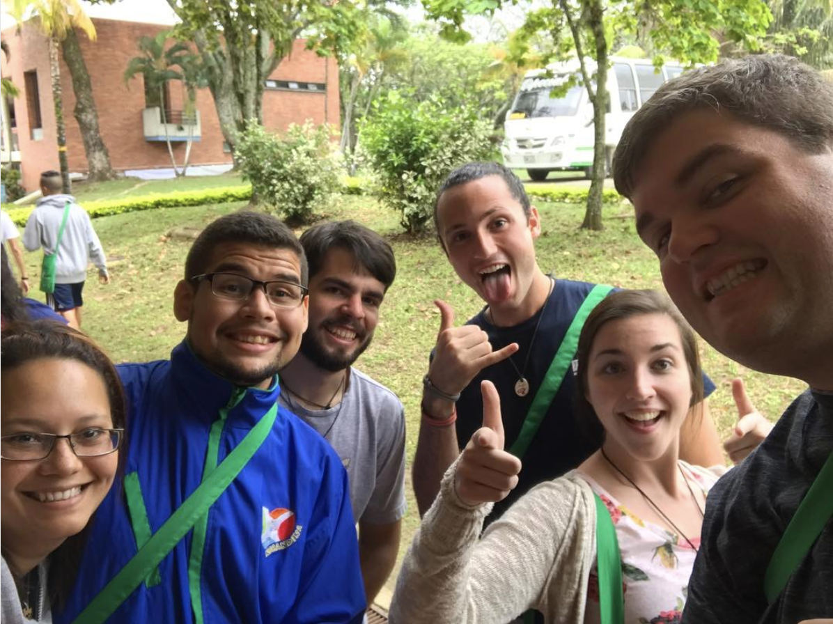 Matt Fallon, along with Marist Young Adults Michael Bourie and Jenny Grant,  spent Holy Week in early 2017 with Marists from Colombia and throughout  Latin ...